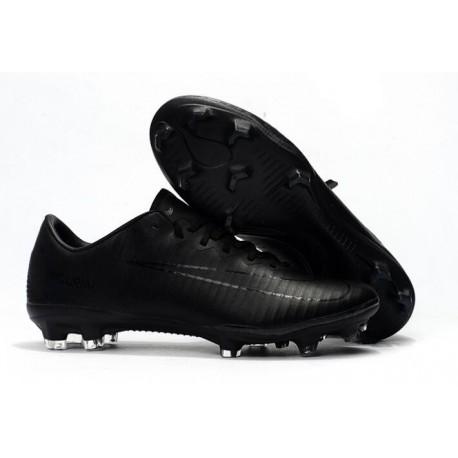 Chaussures de Football Nike Mercurial Vapor 10 FG Noir Volt