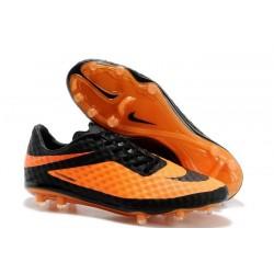 Nouvelle Chaussure Homme Nike Hypervenom Phantom FG Orange Noir