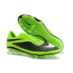 2014/2015 Nike Hypervenom Phantom FG Homme Vert Noir Blanc