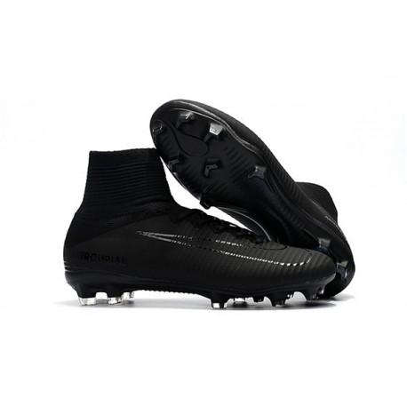 2017 Nouveau Chaussures de Football Mercurial Superfly V FG Noir