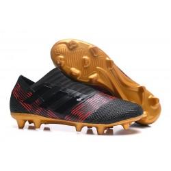 Chaussures Pour Hommes -Nouveau adidas Nemeziz 17+ 360 Agility FG Noir Or Rouge