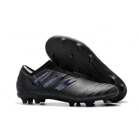 Chaussures Pour Hommes -Nouveau adidas Nemeziz 17+ 360 Agility FG Tout Noir