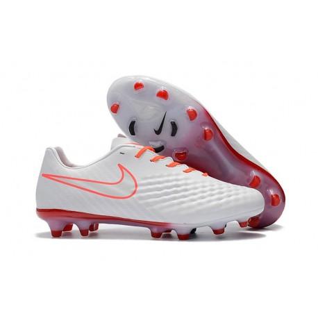 Chaussure De Football Nike Magista Opus II FG Pour Homme Blanc Orange