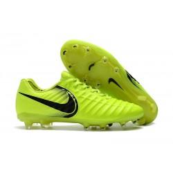 Chaussures pour Hommes Nike Tiempo Legend VII FG Volt Noir