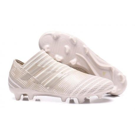 Chaussures Pour Hommes -Nouveau adidas Nemeziz 17+ 360 Agility FG Marron clair Sésame Craie