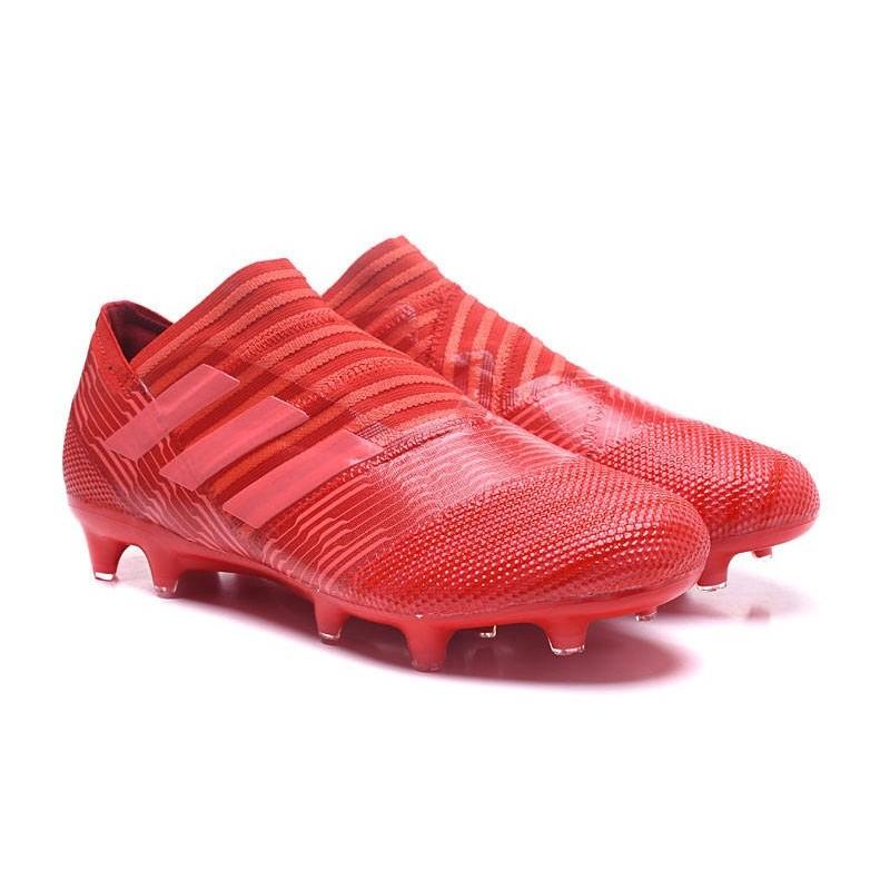 the latest 252c5 a324c Chaussures Pour Hommes - Nouveau adidas Nemeziz 17+ 360 Agility FG Rouge  Rose