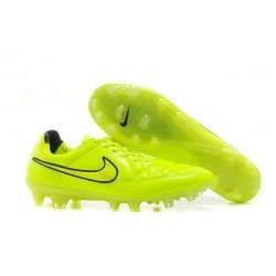 2014/2015 Chaussures Nike Tiempo Legend V FG Homme Vert