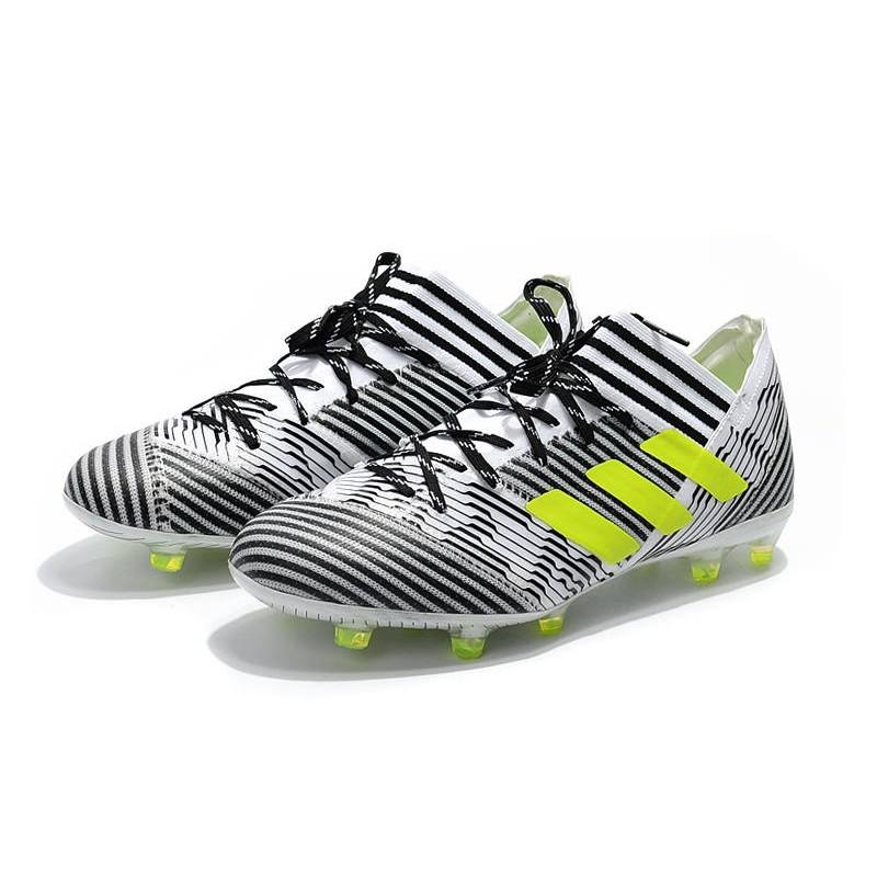 17 Fg Jaune 1 Messi Chaussures Nemeziz Foot Noir Pas Adidas Blanc Cher n08wOXNPk