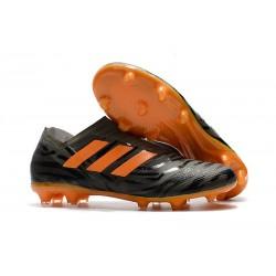 Chaussures Pour Hommes -Nouveau adidas Nemeziz 17+ 360 Agility FG Noir Orange