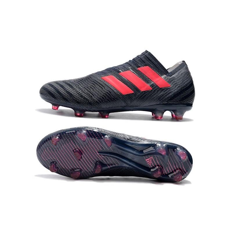 buy online 1780f 69ae7 Chaussures Pour Hommes -Nouveau adidas Nemeziz 17+ 360 Agility FG Noir Rose