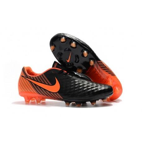 Chaussure De Football Nike Magista Opus II FG Pour Homme Noir Blanc Rouge Université