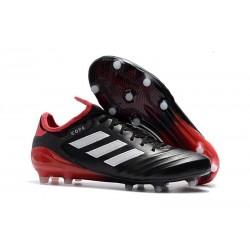 Chaussures de Football - Neuf Adidas Copa 18.1 FG Noir Blanc Rouge