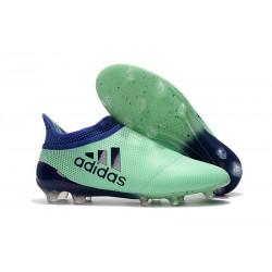 Nouveau Chaussure adidas X 17+ Purespeed FG Vert Aero Encre Vert