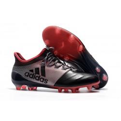 Chaussures de Football pour Hommes - Adidas X 17.1 FG Rose Noir