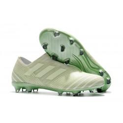 Chaussures Pour Hommes -Nouveau adidas Nemeziz 17+ 360 Agility FG Vert Aero