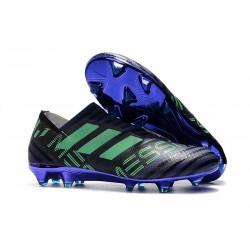 Chaussures Pour Hommes - Nouveau adidas Nemeziz 17+ 360 Agility FG Encre Vert Noir