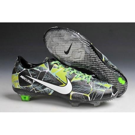 Fg Vapor Ix Football Blanc Noir Mercurial Vert Nike Chaussures YWHIDE29