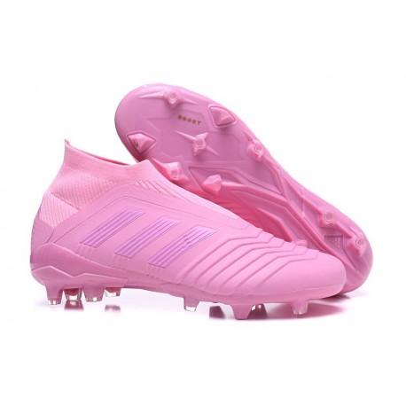 Nouvelles Crampons Foot adidas Predator 18+ FG Rose
