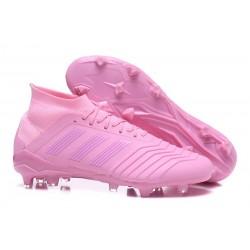 Nouvelles Crampons Football adidas Predator 18.1 FG Rose