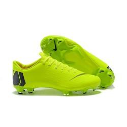 Crampons de Foot pour Hommes - Nike Mercurial Vapor XII Pro FG Vert Noir