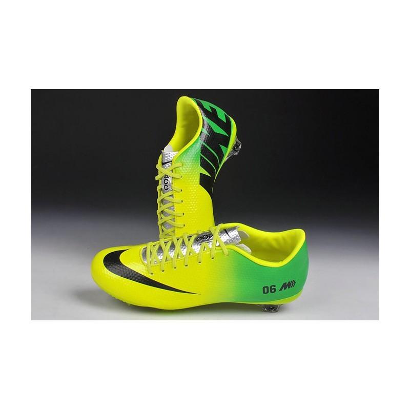super popular cd956 f248f ... shop nouveau crampons nike mercurial vapor 9 fg jaune vert noir c3250  37b60