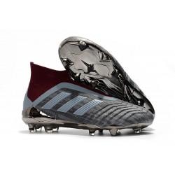 Nouvelles Crampons Foot adidas PP Predator 18+ FG Iron Metallic