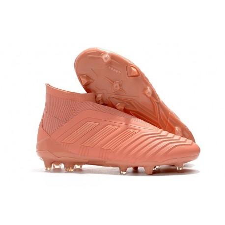 Nouvelles Crampons Foot adidas Paul Pogba Predator 18+ FG Rose