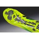 Nouveau Crampons Nike Mercurial Vapor 9 FG Jaune vert Noir