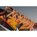 Nike Mercurial Vapor IX FG Terrain Sec Chaussure Homme Noir Blanc Orange
