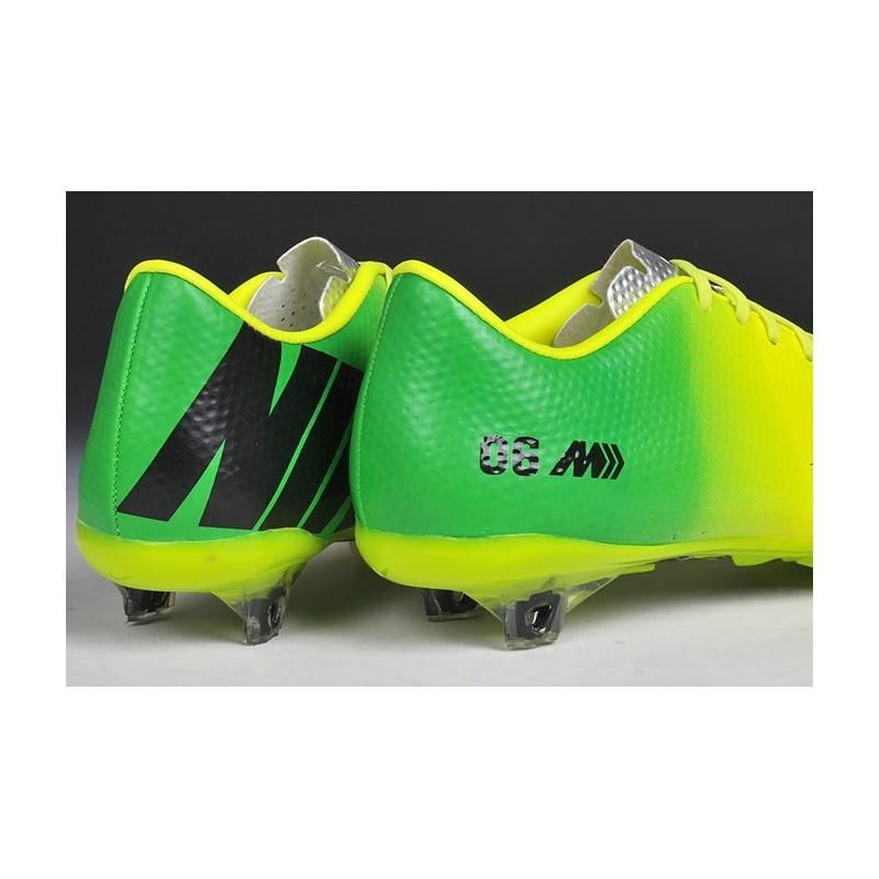 Nike Chaussures Mercurial Vapor IX FG-41-Jaune