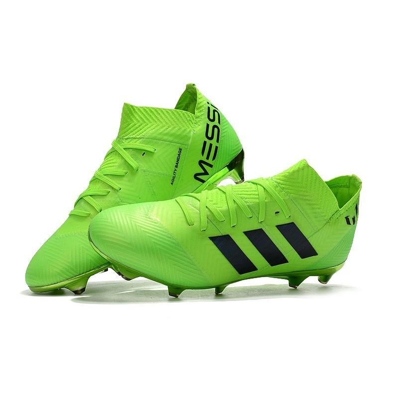 Pour Vert Crampons Adidas Messi Noir 18 1 Fg Foot Hommes Nemeziz 6gbyfY7