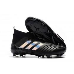 Nouveau Chaussures Crampons Football adidas Predator 18.1 FG Noir Argent