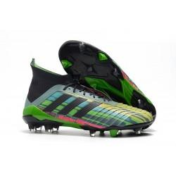 Chaussure de foot adidas Predator Telstar 18.1 FG Vert Noir Jaune