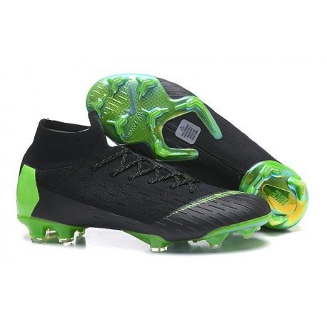 Chaussure de Cristiano Ronaldo Nike Mercurial Superfly VI 360 Elite FG CR7 Jade clair métallisé or vif blanc