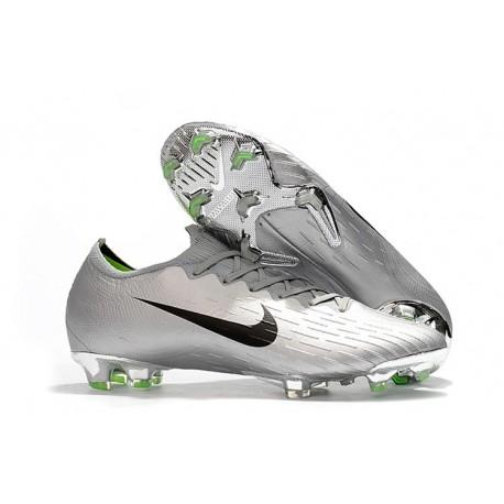 Crampon de Foot Nike Mercurial Vapor XII Elite FG Jaune Volt Noir