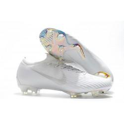 Crampon de Foot Nike Mercurial Vapor XII Elite FG Blanc