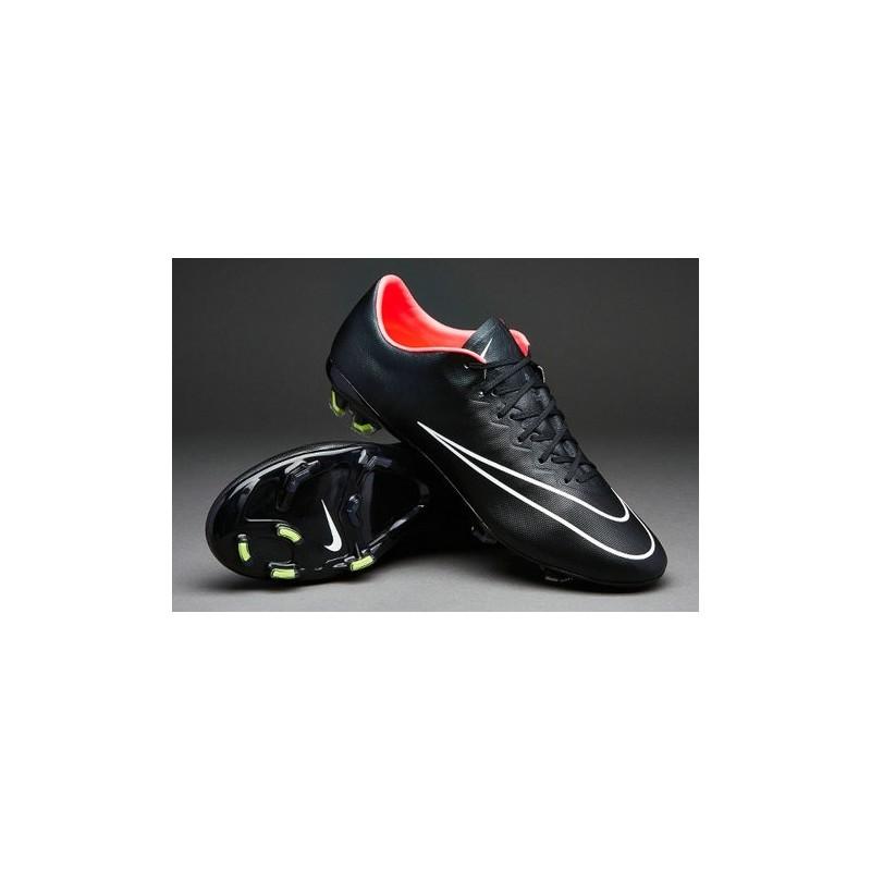 plus récent 30a41 31401 Chaussures de Football Nike Mercurial Vapor 10 FG Noir