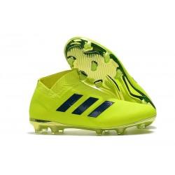 Neuf - Crampons de football Adidas Nemeziz 18+ FG - Vert Noir