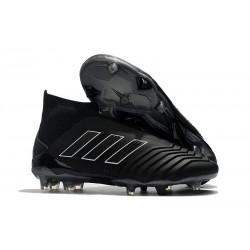 Nouvelles Crampons Foot adidas Predator 18+ FG Tout Noir