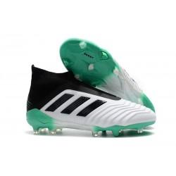 Nouvelles Crampons Foot adidas Predator 18+ FG Blanc Vert