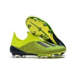 Neuf Crampons Foot - Adidas X 18+ FG - Jaune Noir