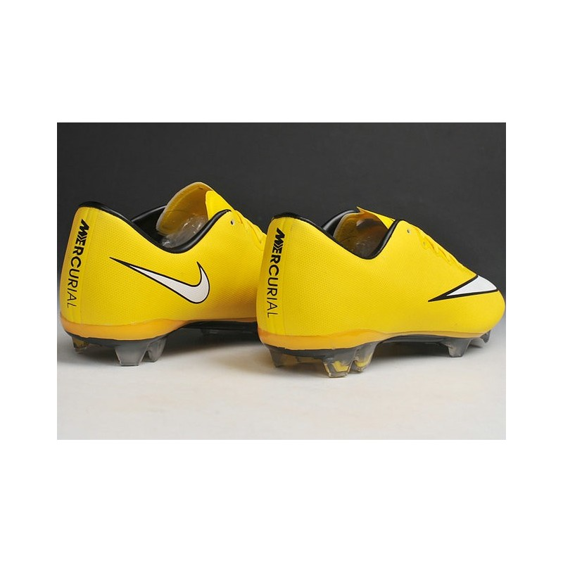 official photos f94f1 cda3b 2014 crampons de foot nike mercurial vapor x fg homme jaune blanc nike  football 2014